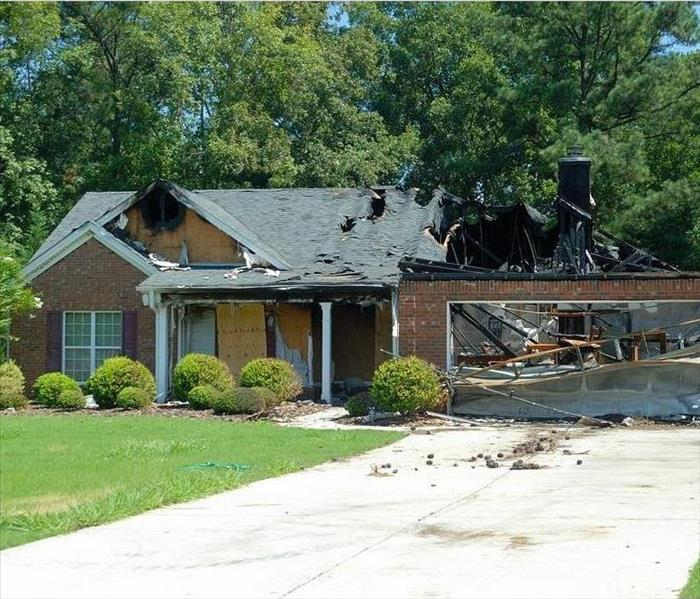 Fire Damage SERVPRO of Sumner County - Fire Restoration Process Overview