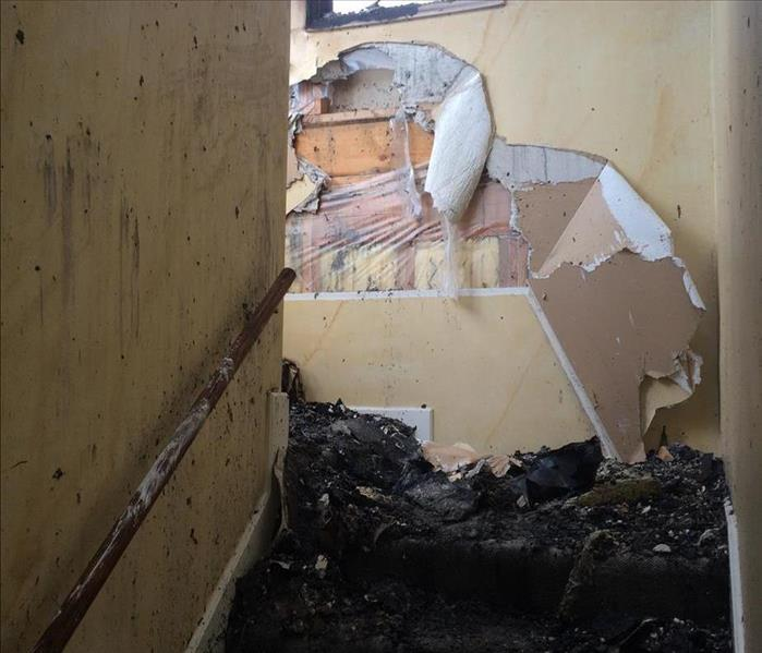 Fire Damage Smoke and Soot Damage Can Cause a Pervasive Odor in Your Sumner County Home.