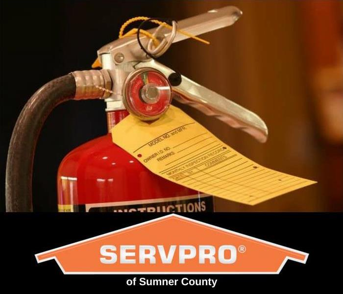 Fire Damage SERVPRO® of Sumner County - Fire Extinguisher Tips